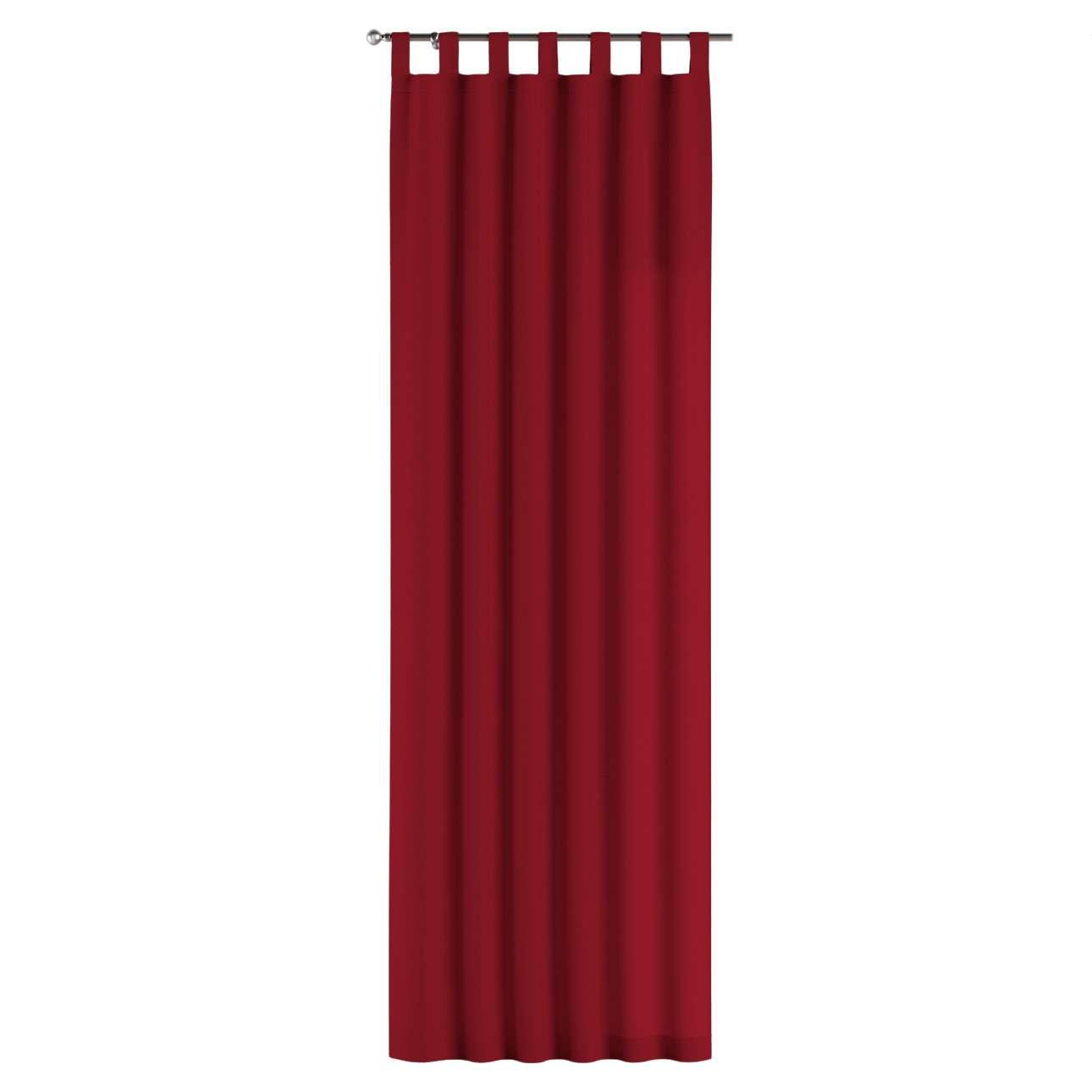 Gardin med hällor 1 längd 130 x 260 cm i kollektionen Chenille, Tyg: 702-24