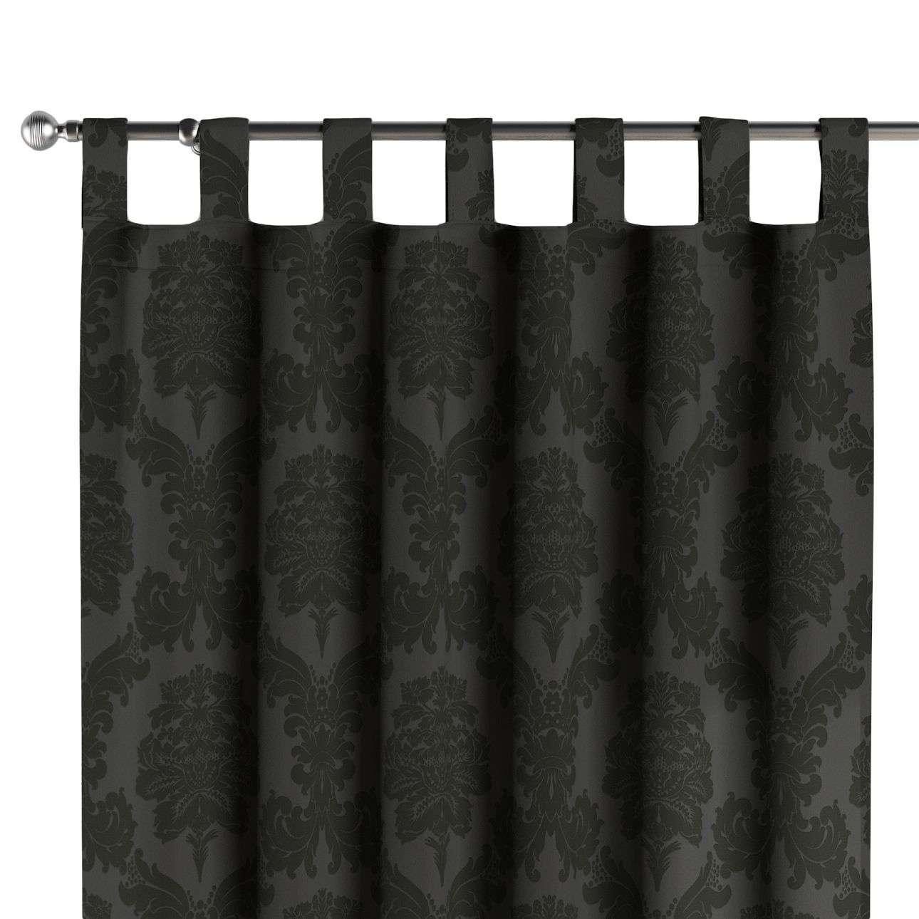 Gardin med stropper 130 x 260 cm fra kollektionen Damasco, Stof: 613-32