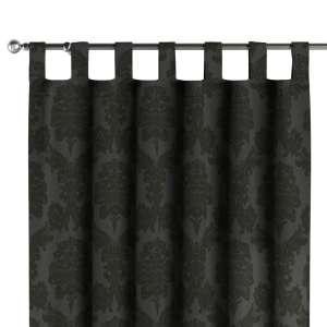 Gardin med hällor 1 längd 130 x 260 cm i kollektionen Damasco, Tyg: 613-32