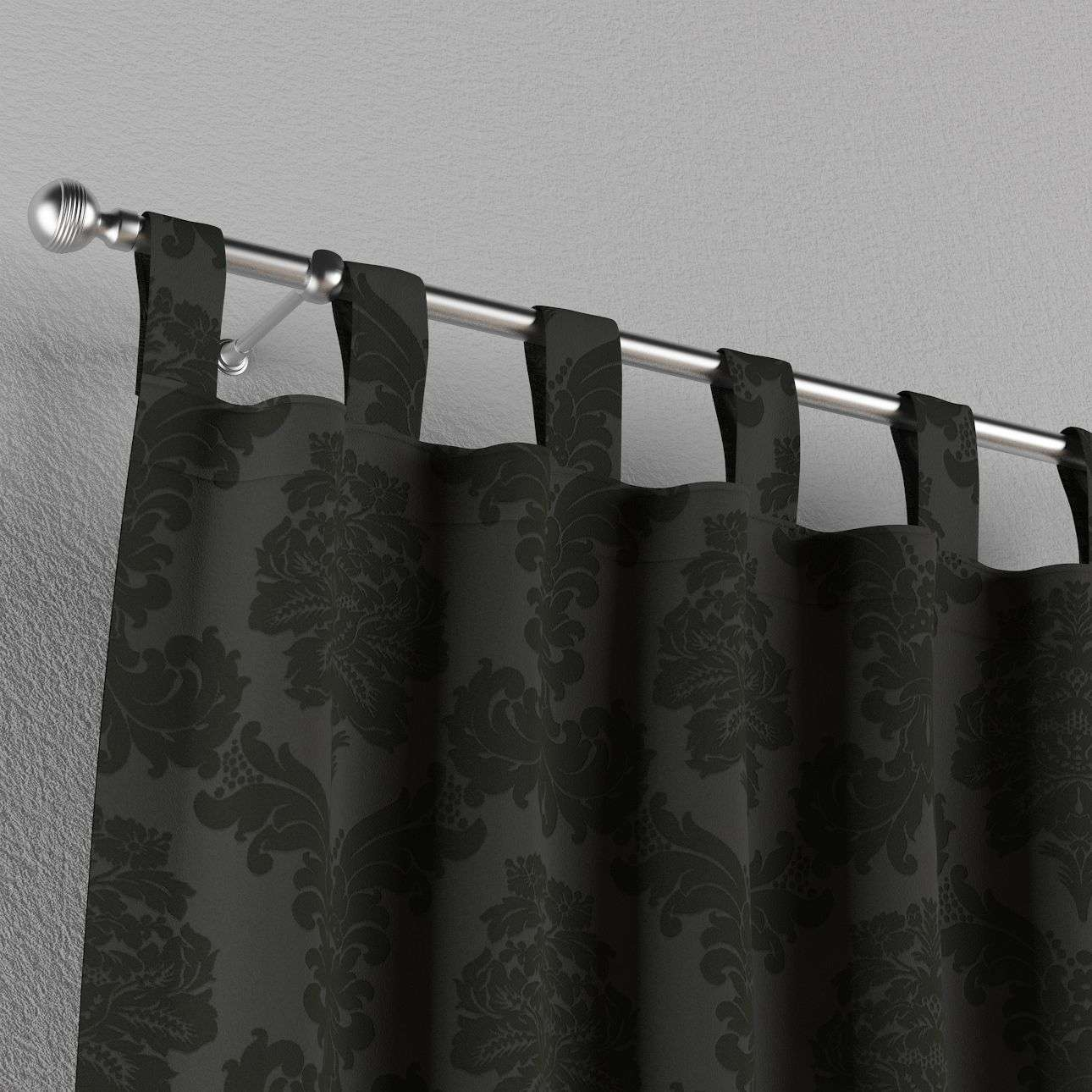 Tab top curtains in collection Damasco, fabric: 613-32