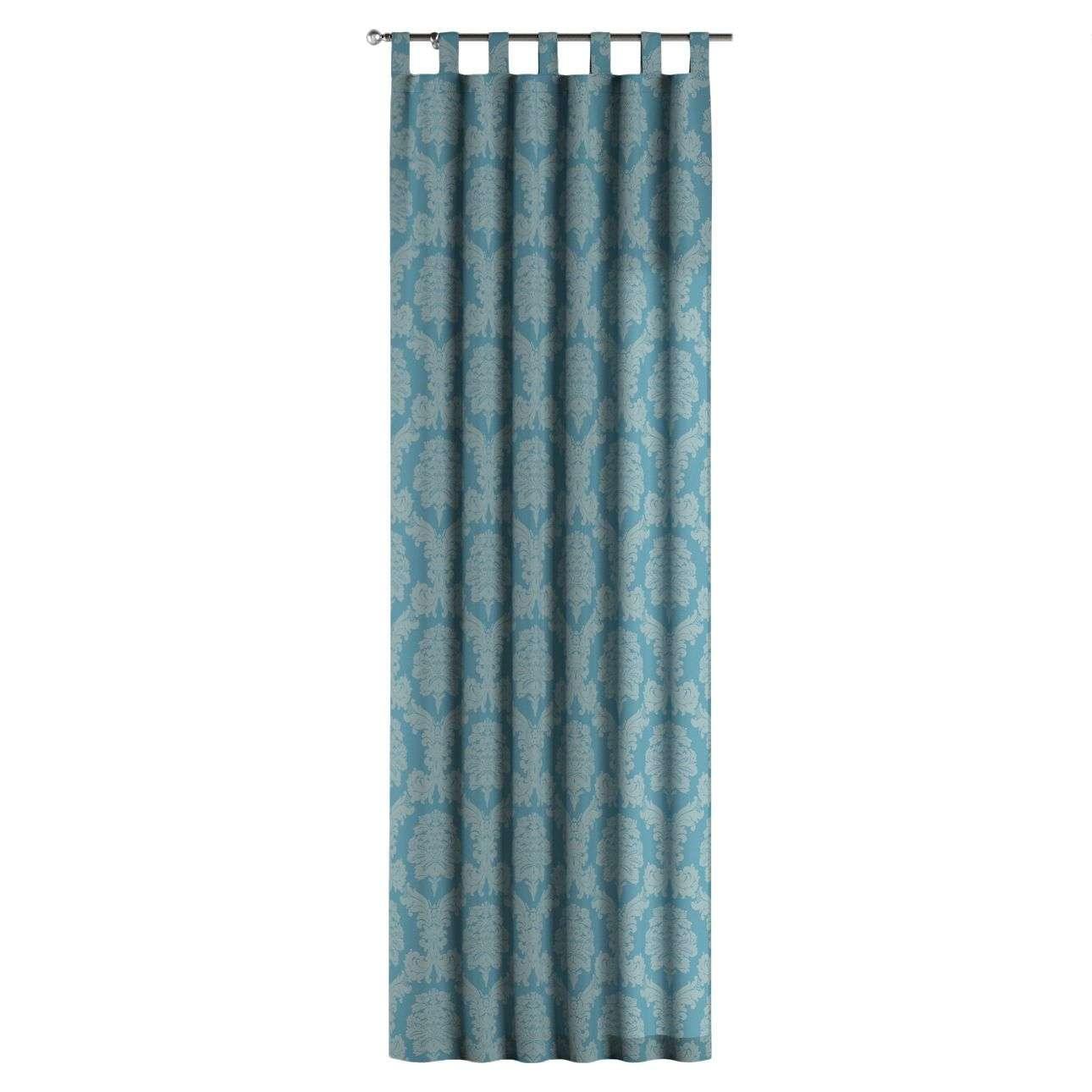 Gardin med hällor 1 längd 130 x 260 cm i kollektionen Damasco, Tyg: 613-67