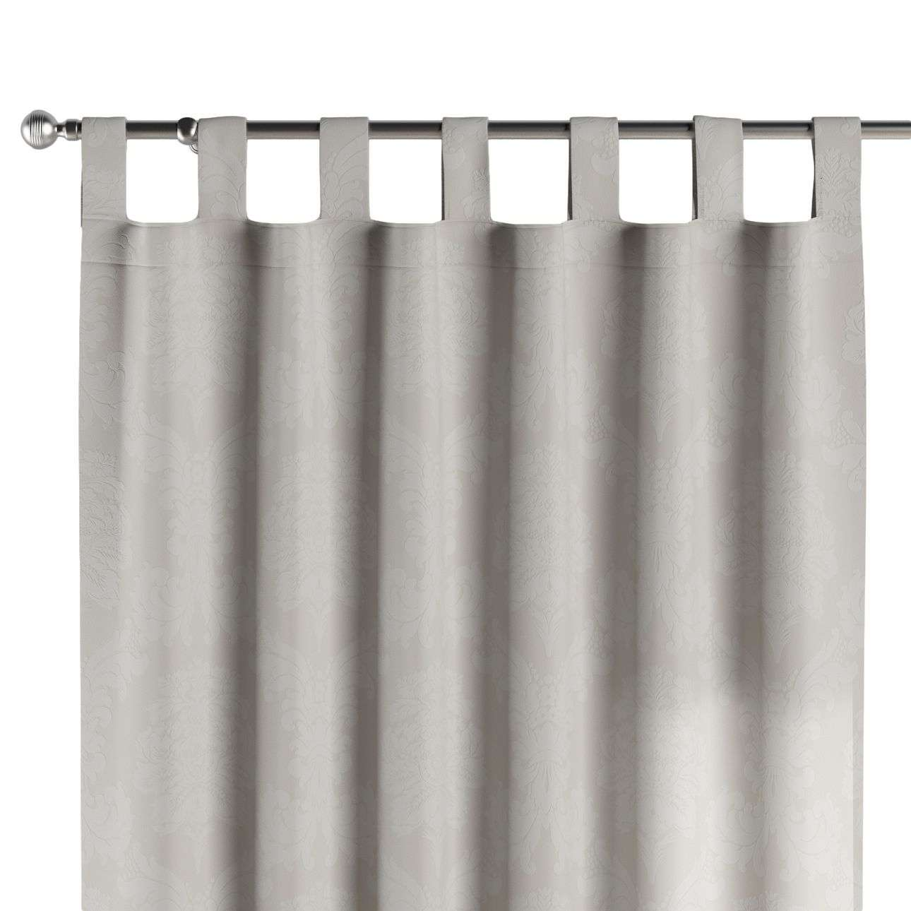 Tab top curtains 130 x 260 cm (51 x 102 inch) in collection Damasco, fabric: 613-81
