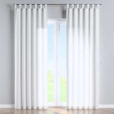 Tab top curtain 133-02 off white Collection Loneta