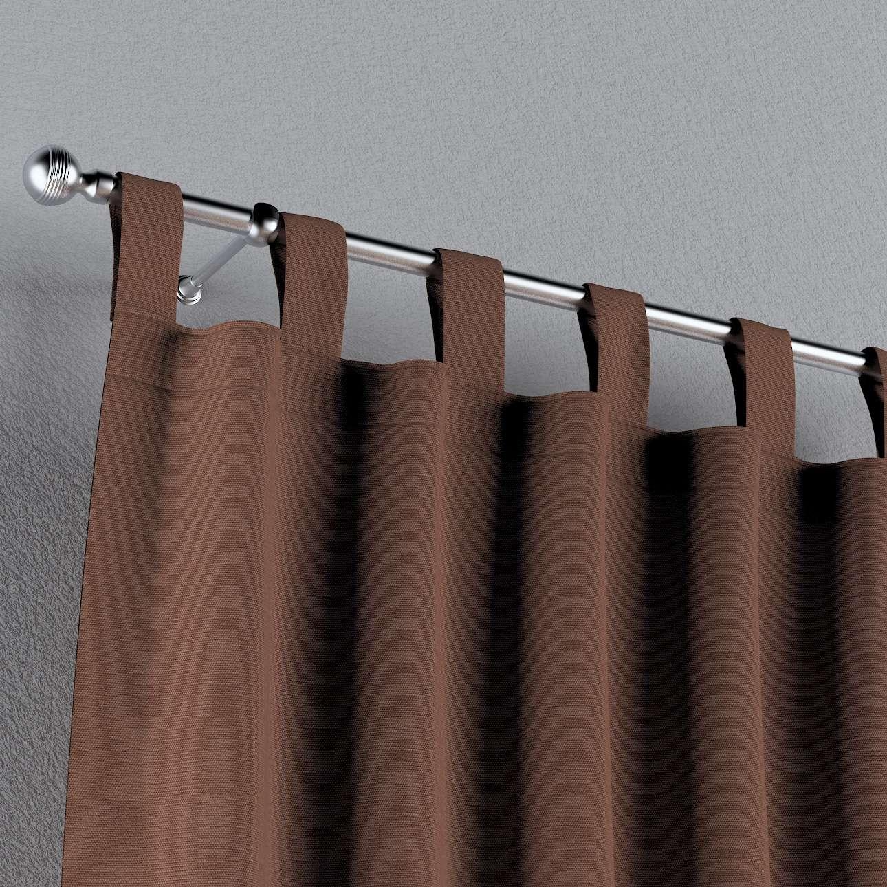 Gardin med stropper 130 x 260 cm fra kollektionen Loneta, Stof: 133-09