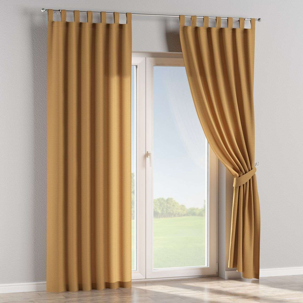 Tab top curtains 130 x 260 cm (51 x 102 inch) in collection Loneta , fabric: 133-12