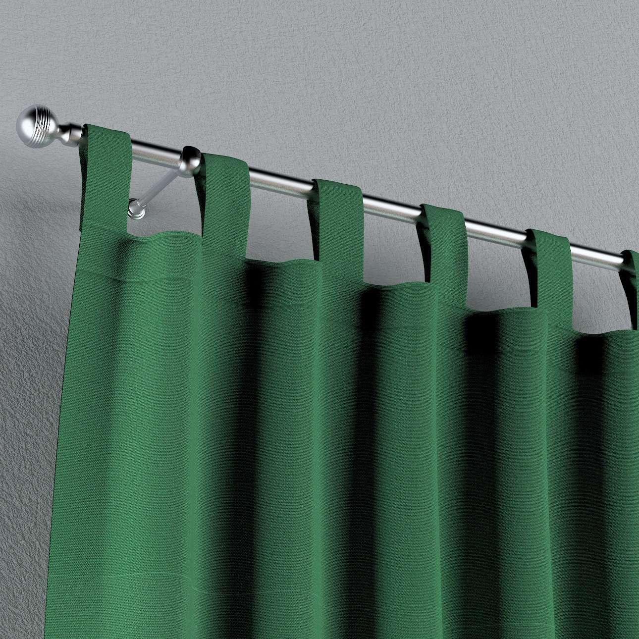 Gardin med hällor 1 längd 130 x 260 cm i kollektionen Loneta , Tyg: 133-18