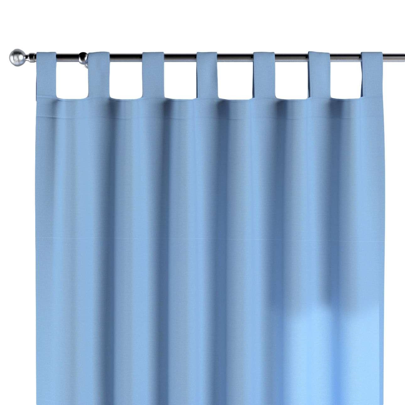 Gardin med stropper 1 stk. 130 × 260 cm fra kolleksjonen Loneta, Stoffets bredde: 133-21