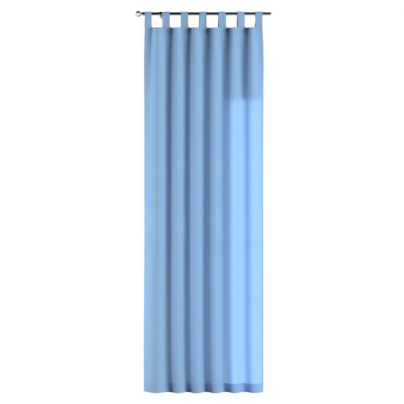 Zasłona na szelkach 1 szt. w kolekcji Loneta, tkanina: 133-21
