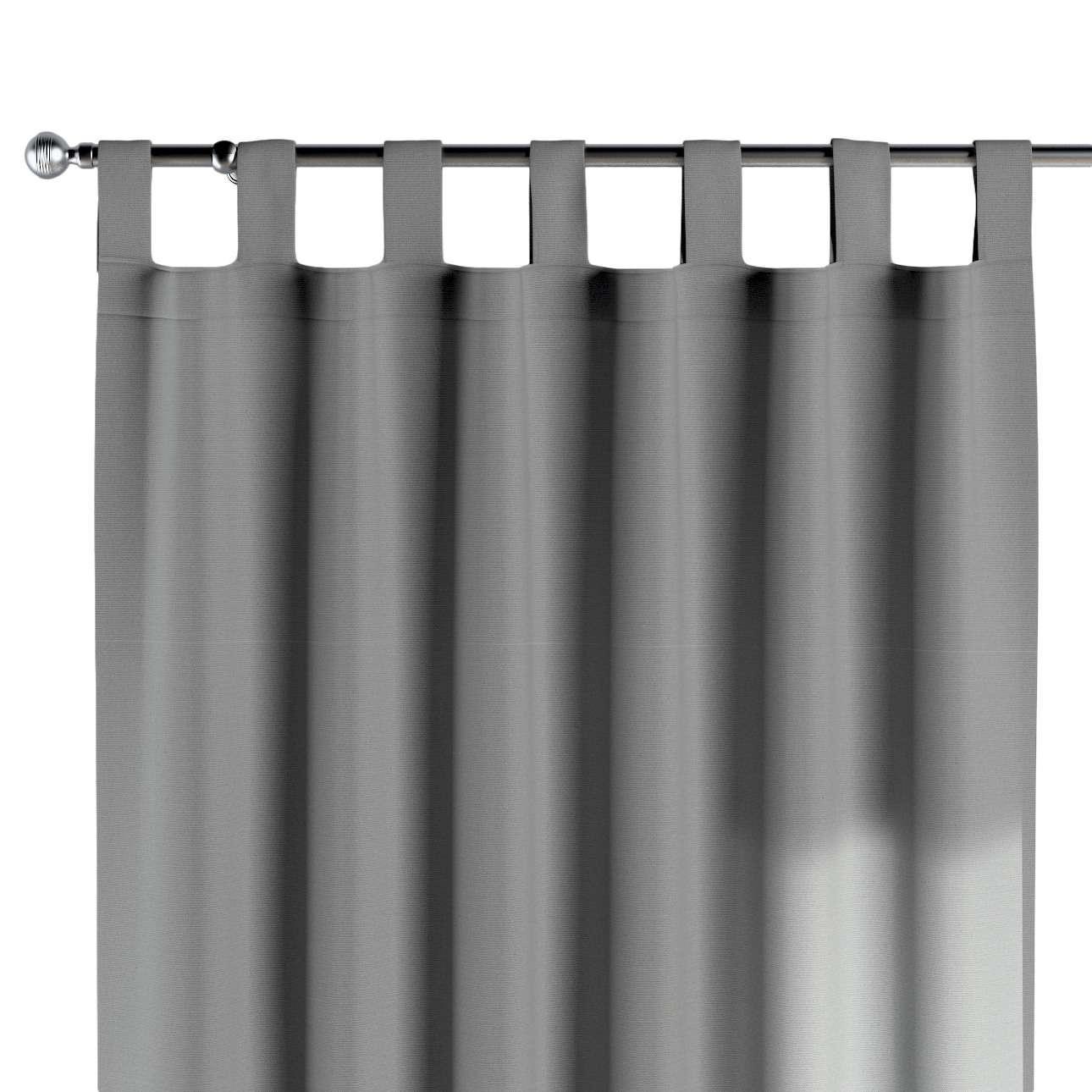 Zasłona na szelkach 1 szt. 1szt 130x260 cm w kolekcji Loneta, tkanina: 133-24