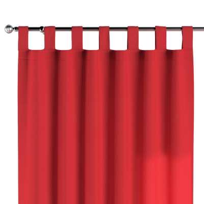 Záves na pútkach 133-43 červená Kolekcia Loneta