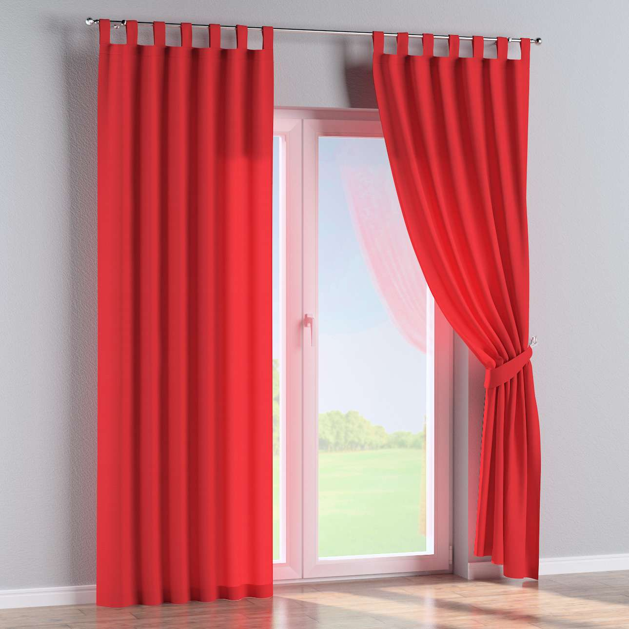 Tab top curtains 130 x 260 cm (51 x 102 inch) in collection Loneta , fabric: 133-43