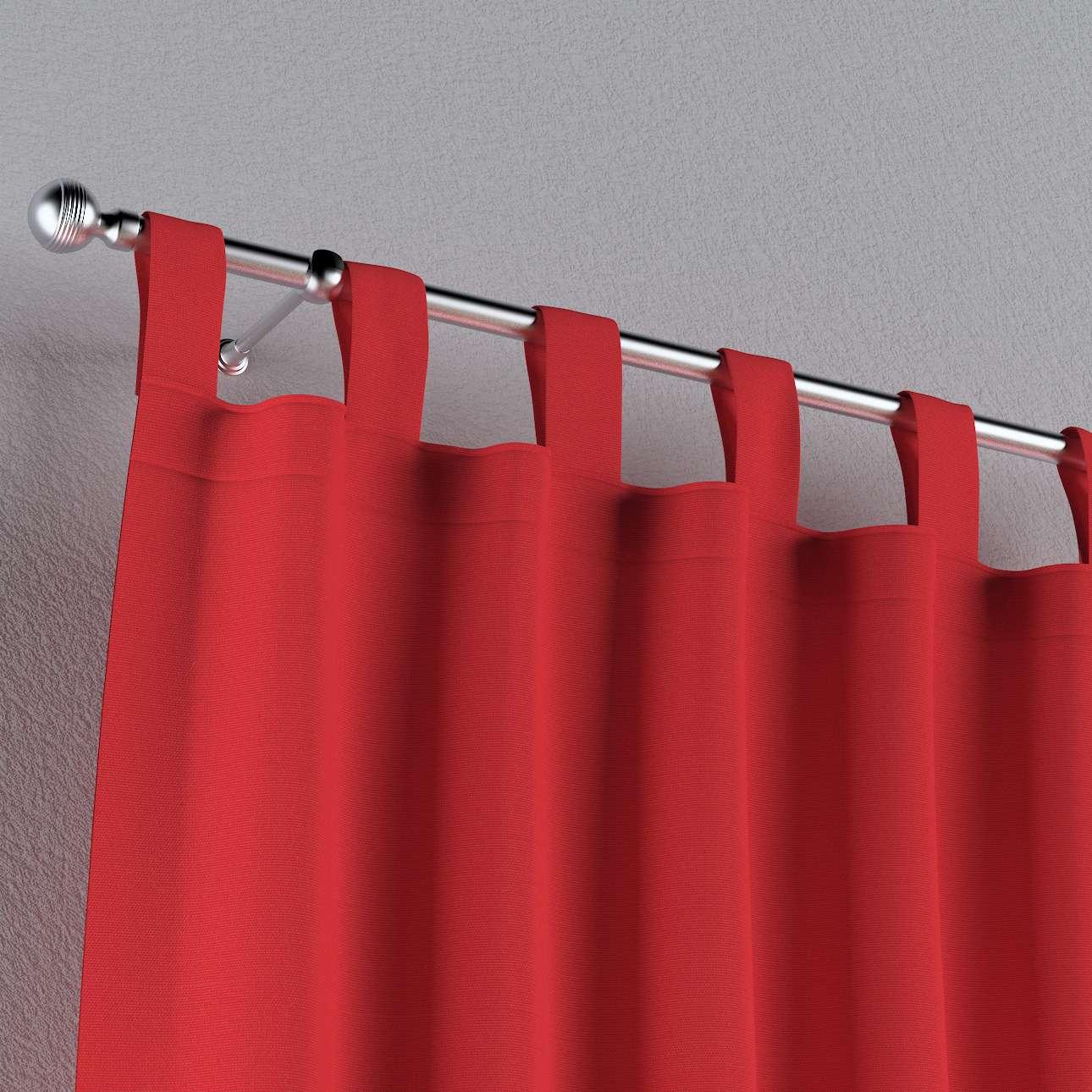 Zasłona na szelkach 1 szt. 1szt 130x260 cm w kolekcji Loneta, tkanina: 133-43