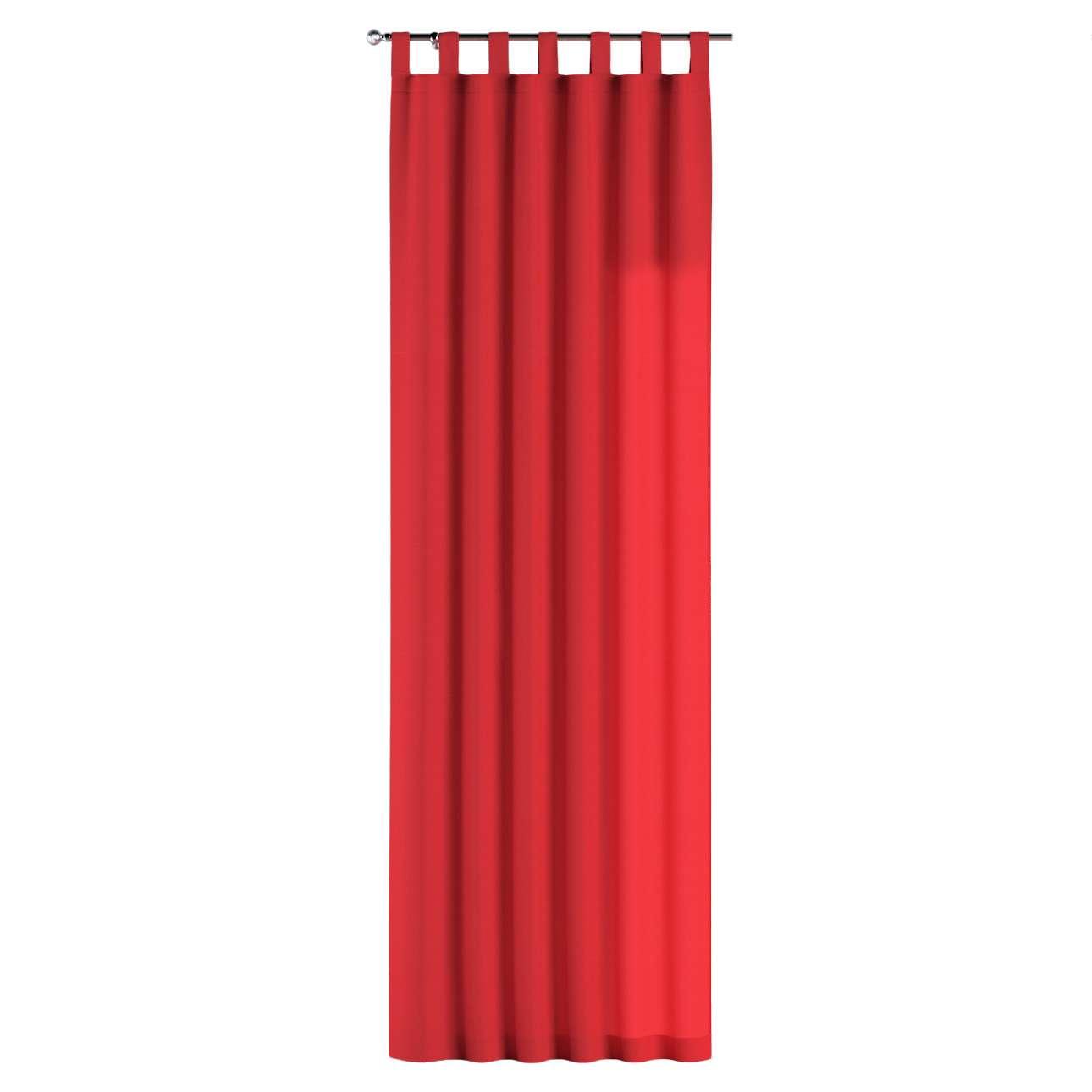 Gardin med hällor 1 längd 130 x 260 cm i kollektionen Loneta , Tyg: 133-43