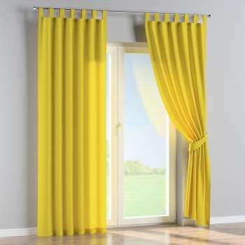 Tab top curtains in collection Loneta , fabric: 133-55