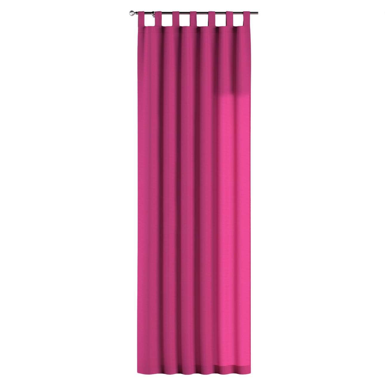 Gardin med hällor 1 längd 130 x 260 cm i kollektionen Loneta , Tyg: 133-60
