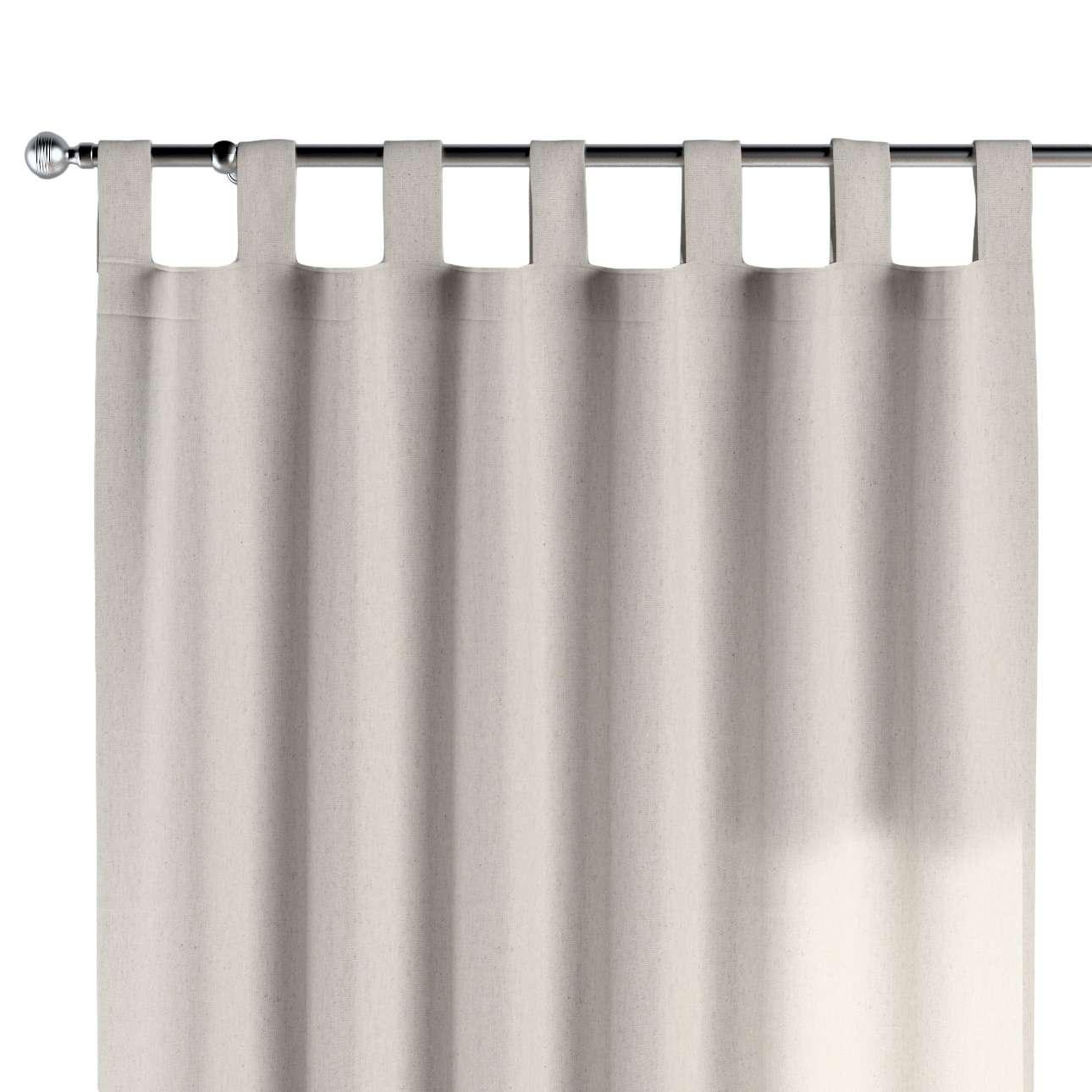 Zasłona na szelkach 1 szt. 1szt 130x260 cm w kolekcji Loneta, tkanina: 133-65