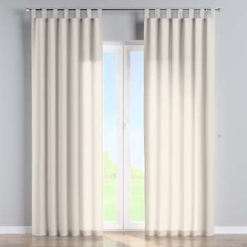 Tab top curtains 130 × 260 cm (51 × 102 inch) in collection Loneta , fabric: 133-65