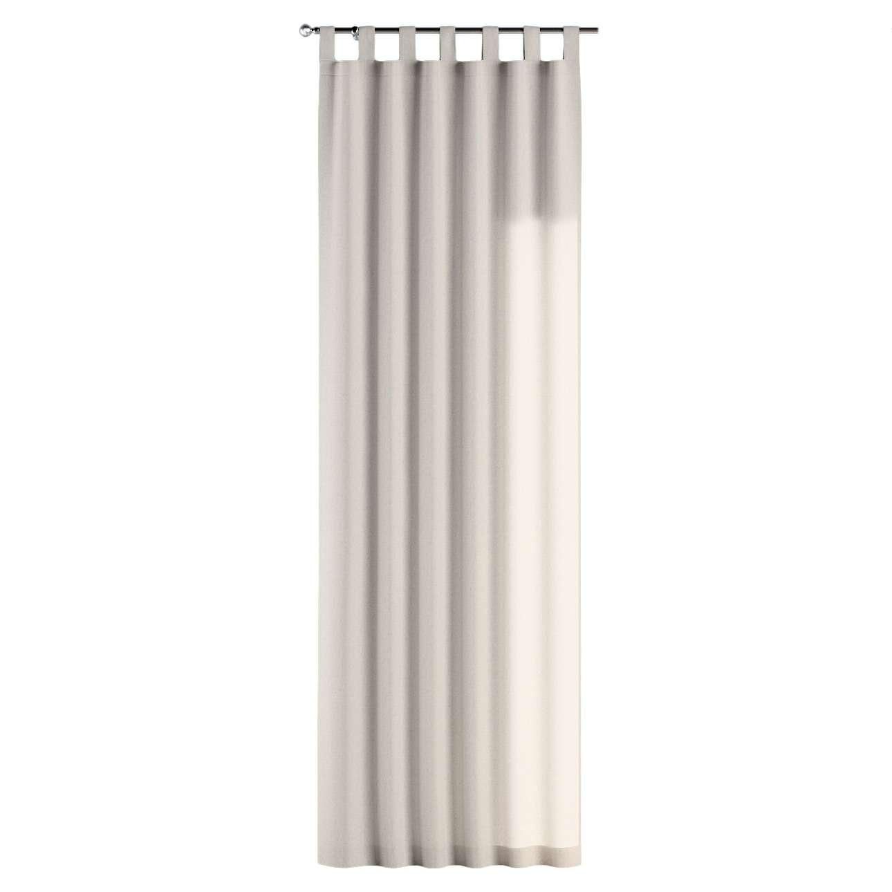 Gardin med hällor 1 längd 130 x 260 cm i kollektionen Loneta , Tyg: 133-65