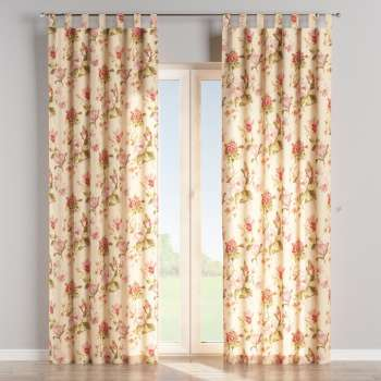Tab top curtains in collection Londres, fabric: 123-05
