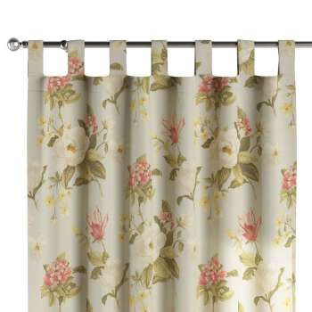 Tab top curtains 130 x 260 cm (51 x 102 inch) in collection Londres, fabric: 123-65