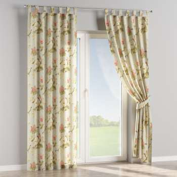 Tab top curtains in collection Londres, fabric: 123-65