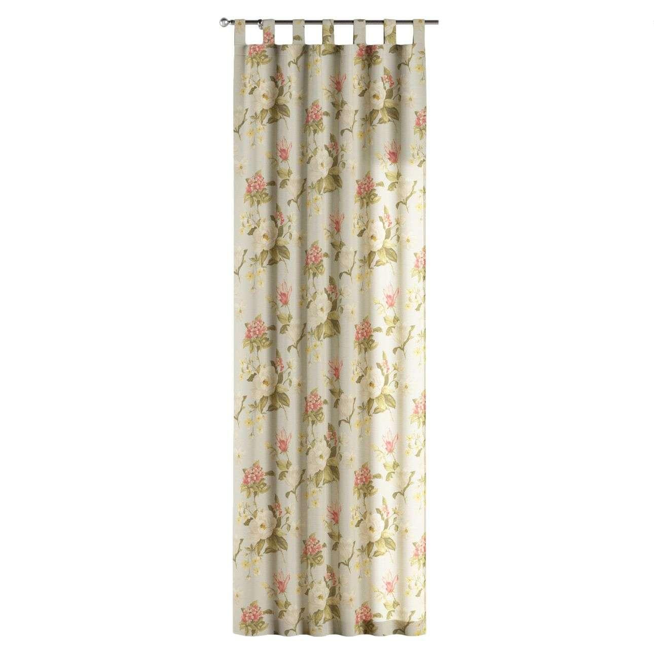 Gardin med stropper 130 x 260 cm fra kollektionen Londres , Stof: 123-65