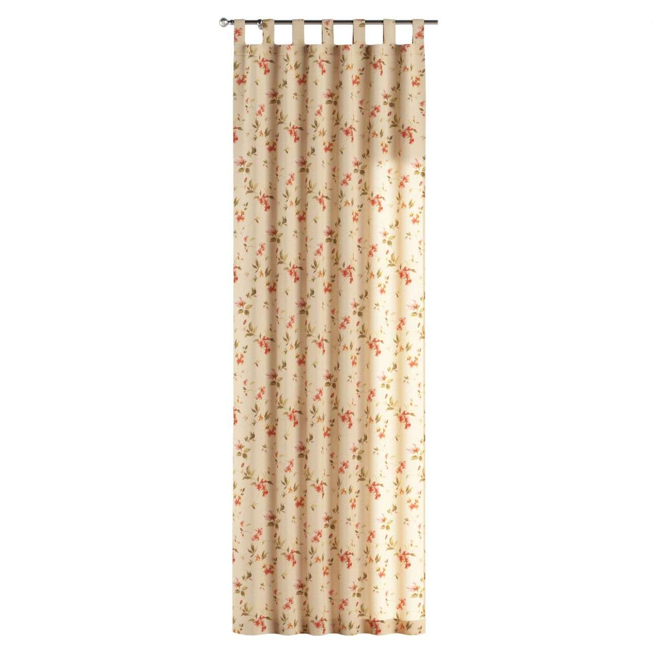 Tab top curtains 130 x 260 cm (51 x 102 inch) in collection Londres, fabric: 124-05