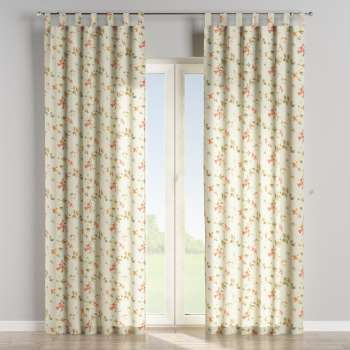 Tab top curtains in collection Londres, fabric: 124-65