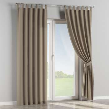 Tab top curtains 130 x 260 cm (51 x 102 inch) in collection Panama Cotton, fabric: 702-28