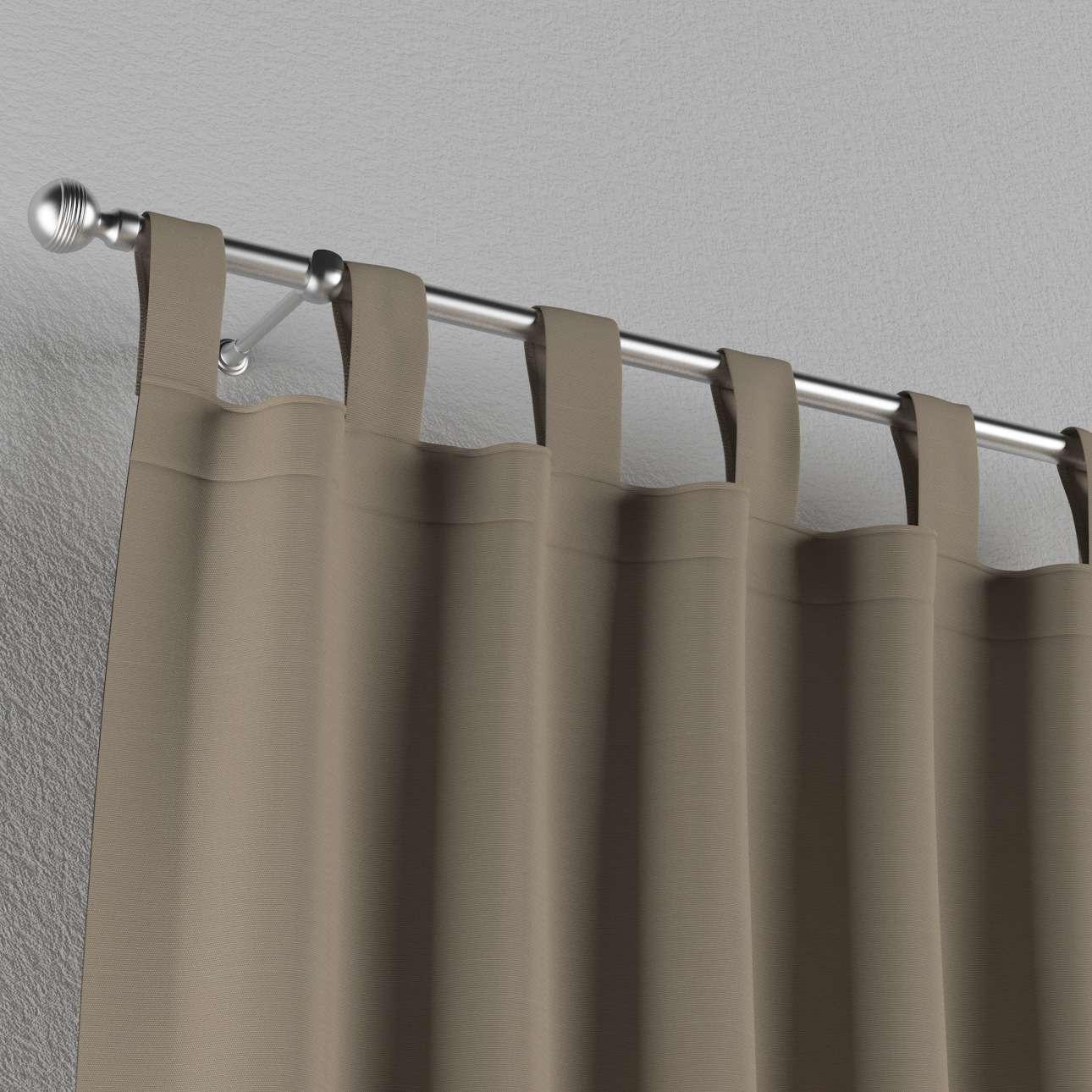 Gardin med stropper 1 stk. 130 x 260 cm fra kolleksjonen Cotton Panama, Stoffets bredde: 702-28