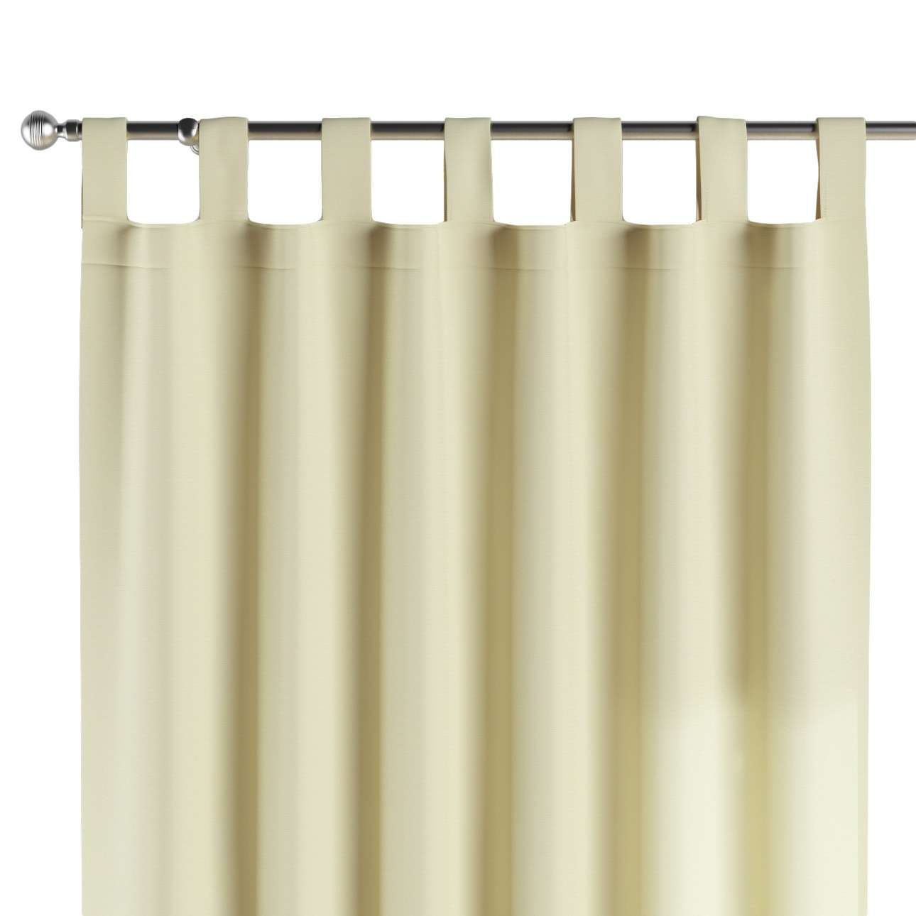 Tab top curtains 130 x 260 cm (51 x 102 inch) in collection Cotton Panama, fabric: 702-29