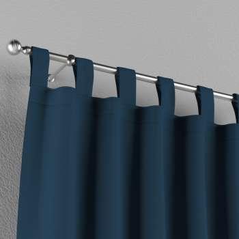 Gardin med hällor 1 längd 130 × 260 cm i kollektionen Panama Cotton , Tyg: 702-30