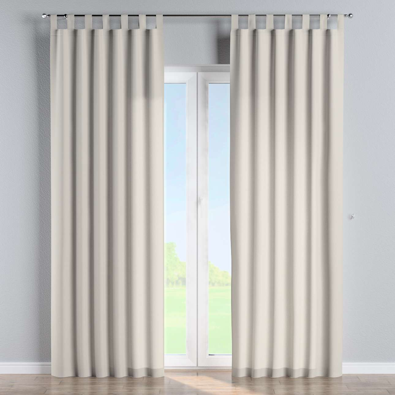 Tab top curtains 130 × 260 cm (51 × 102 inch) in collection Panama Cotton, fabric: 702-31