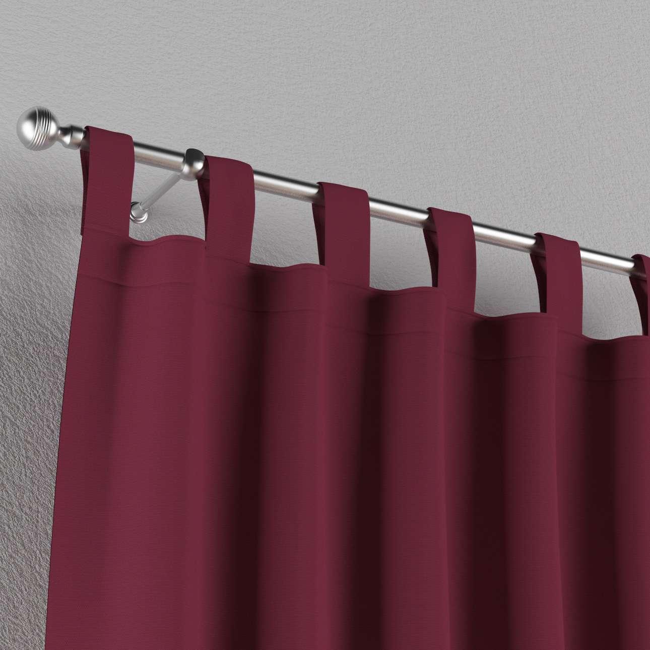Zasłona na szelkach 1 szt. 1szt 130x260 cm w kolekcji Cotton Panama, tkanina: 702-32