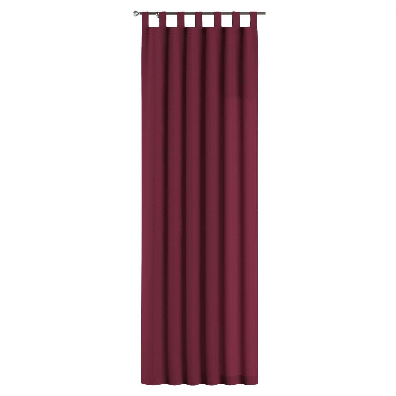 Gardin med stropper 1 stk. fra kollektionen Cotton Panama, Stof: 702-32
