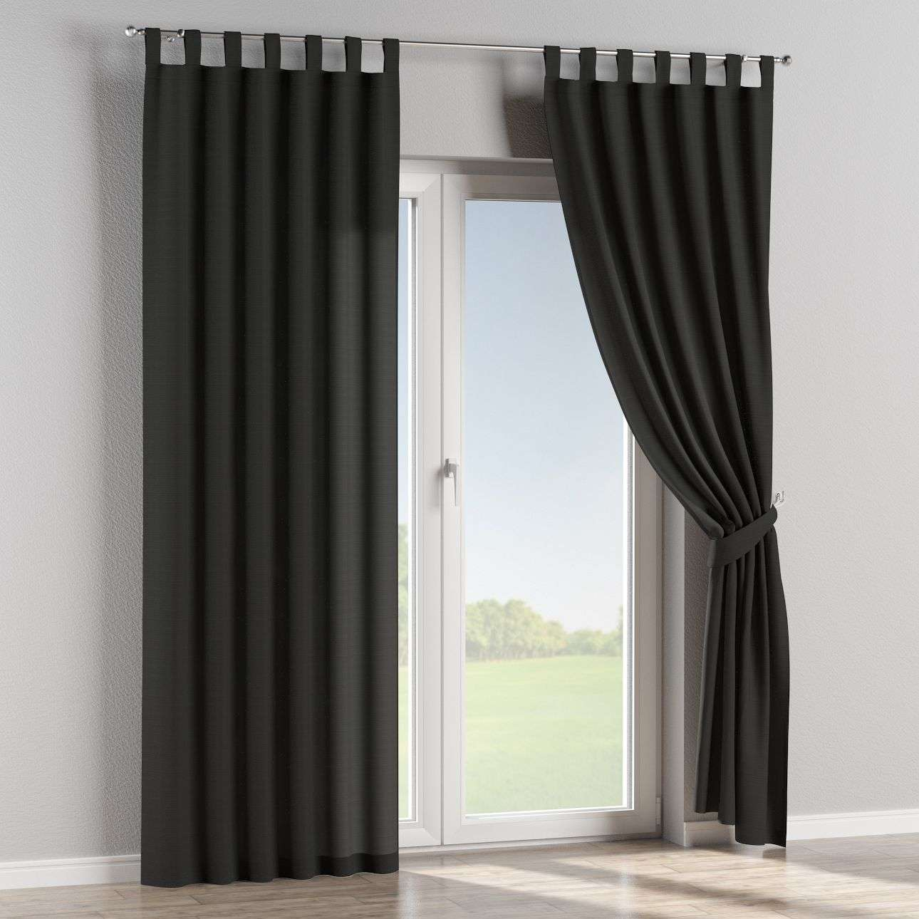 Tab top curtains in collection Jupiter, fabric: 127-99