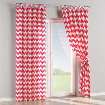 Tab top curtains in collection Comics/Geometrical, fabric: 135-00