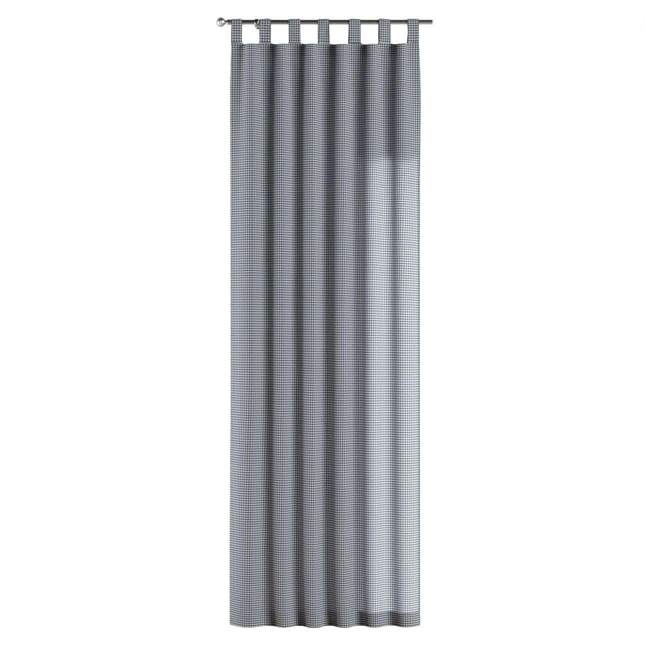 Gardin med stropper 1 stk. fra kolleksjonen Quadro, Stoffets bredde: 136-00