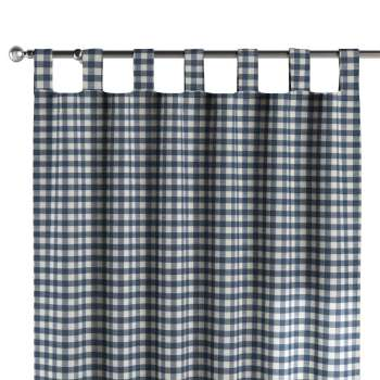 Tab top curtains 130 x 260 cm (51 x 102 inch) in collection Quadro, fabric: 136-01