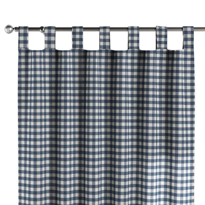 Záves na pútkach V kolekcii Quadro, tkanina: 136-01