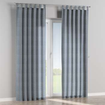 Zasłona na szelkach 1 szt. 1szt 130x260 cm w kolekcji Quadro, tkanina: 136-01