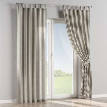Tab top curtains 130 × 260 cm (51 × 102 inch) in collection Quadro, fabric: 136-02