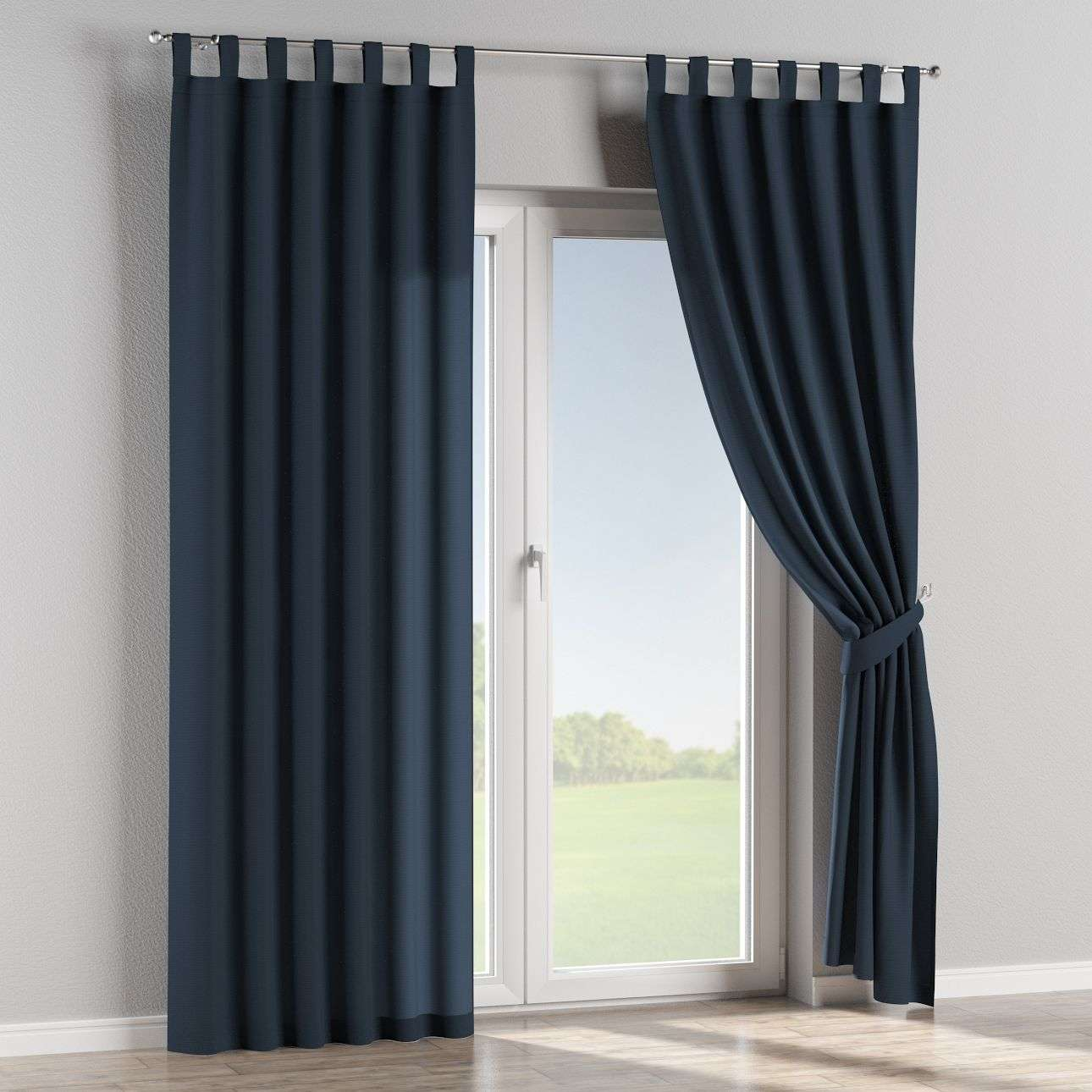 Tab top curtains 130 x 260 cm (51 x 102 inch) in collection Quadro, fabric: 136-04