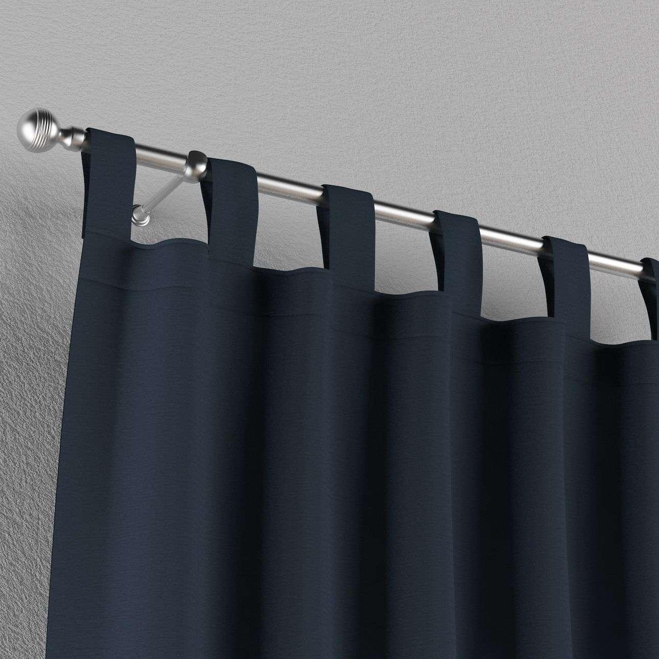 Gardin med stropper 1 stk. 130 × 260 cm fra kolleksjonen Quadro, Stoffets bredde: 136-04