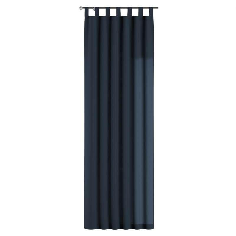 Gardin med stropper 1 stk. fra kolleksjonen Quadro, Stoffets bredde: 136-04