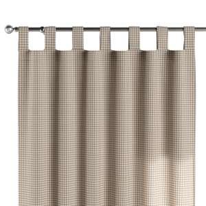 Zasłona na szelkach 1 szt. 1szt 130x260 cm w kolekcji Quadro, tkanina: 136-05