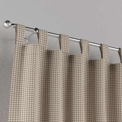 Záves na pútkach V kolekcii Quadro, tkanina: 136-05