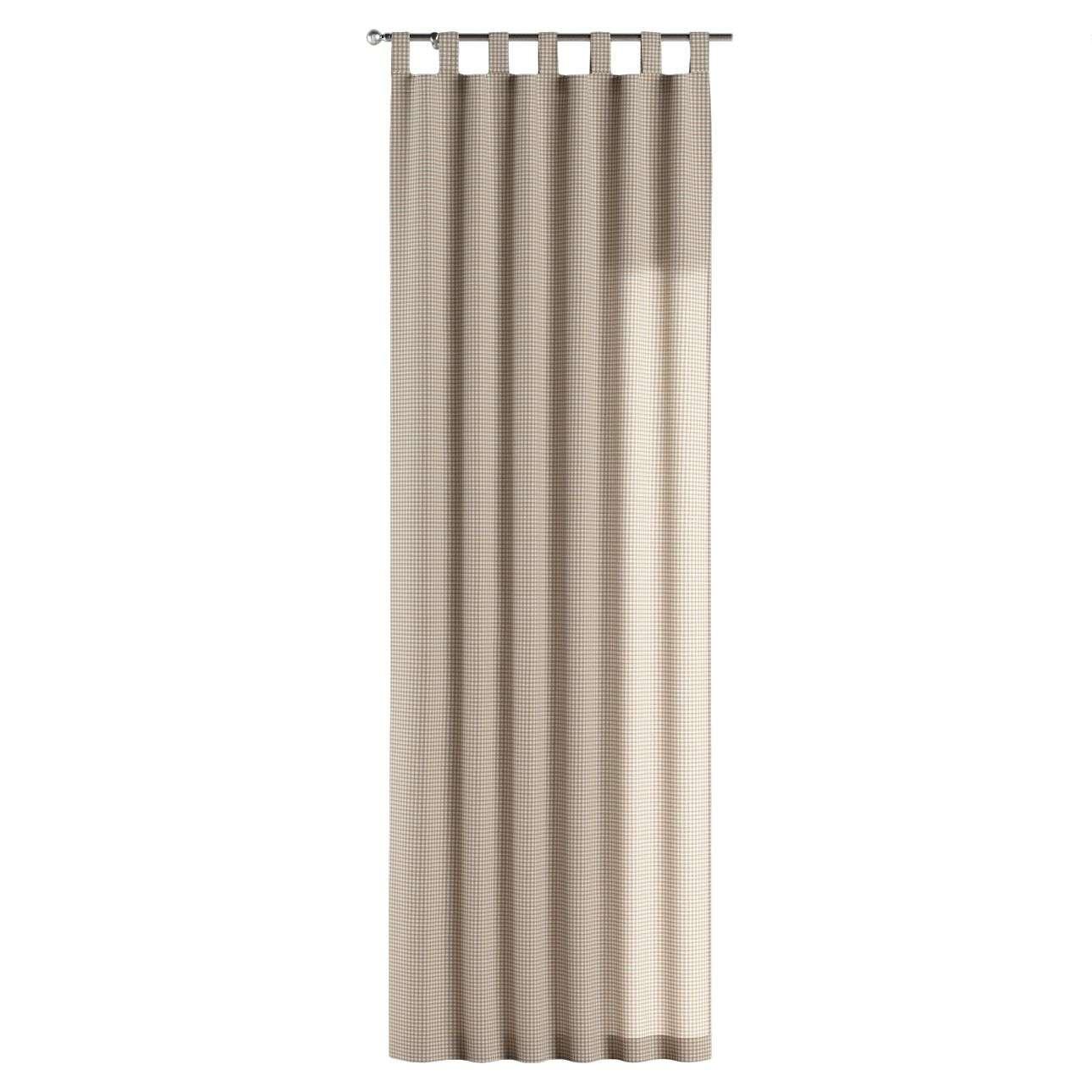Füles függöny 130 x 260 cm a kollekcióból Lakástextil Quadro, Dekoranyag: 136-05