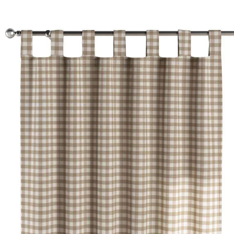 Záves na pútkach V kolekcii Quadro, tkanina: 136-06