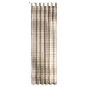 Zasłona na szelkach 1 szt. 1szt 130x260 cm w kolekcji Quadro, tkanina: 136-06